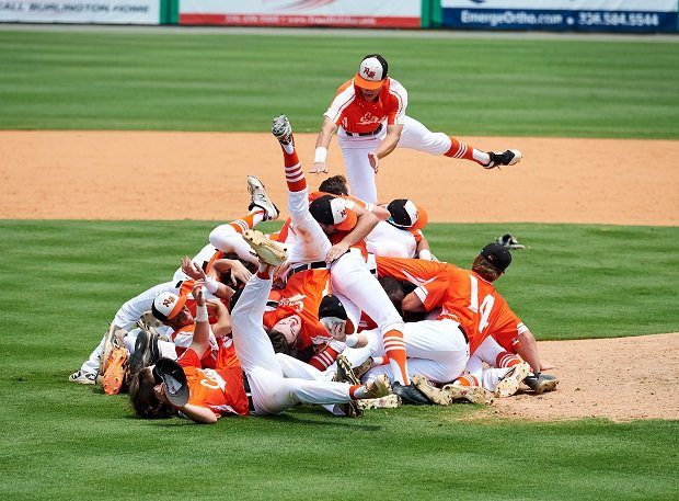 New Hanover won the North Carolina 3A title and winds up at No. 17 in the baseball composite rankings.
