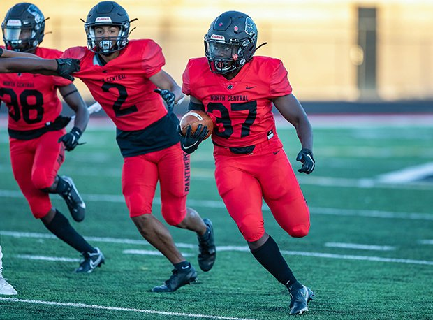 North Central (Indianapolis) downed Lawrence North (Indianapolis) 27-21 last week in a meeting of unbeatens.