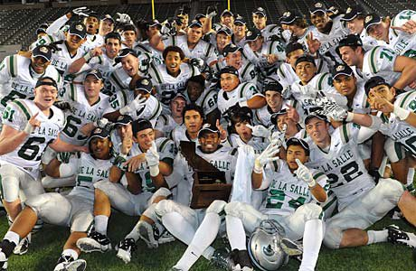De La Salle is the top high school football dynasty in the country with 125 wins and five state titles since 2003.