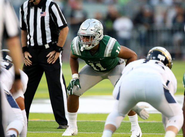 Henry To'oto'o picked Tennessee over Alabama and Washington.