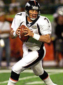 Elway during Super Bowl XXXIII.