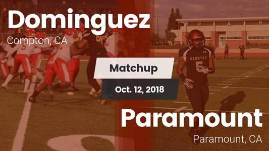 Football Game Recap: Paramount vs. Dominguez
