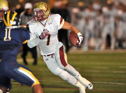 Carlos Mendoza rushed for more than 100 yards and had 12 tackles for Oaks Christian.