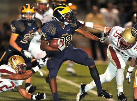 Bellevue sophomore Bishard Baker is already get serious looks from Pacific-12 Conference schools.