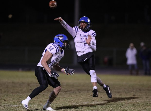 Jack Prka threw for nearly 3,700 yards while leading Coeur d'Alene to the Class 5A state championship game.