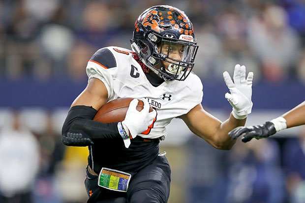 Incoming Alabama running back Jase McClellan helped Aledo (Texas) lead high school football in scoring in 2016 and 2019.