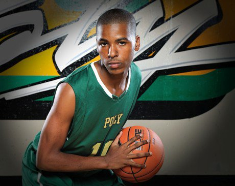 Ke'jhan Feagin was the hero for Long Bech Poly on the second day of the City of Palms Classic.
