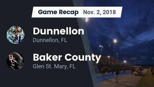 Baker County High School (Glen St  Mary, FL) Football