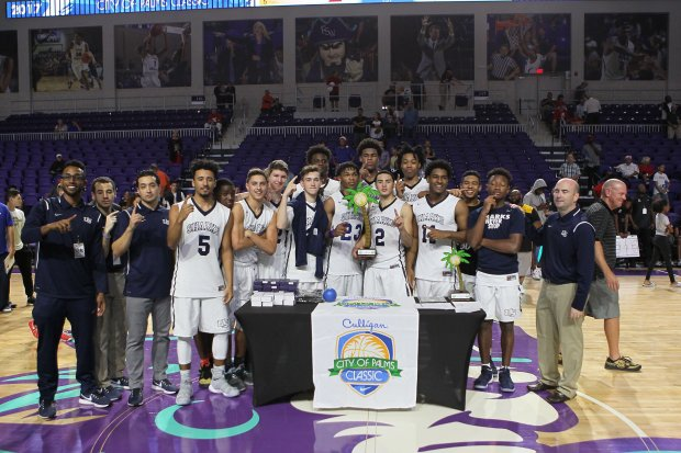 University became the lowest seed in tournament history to win the City of Palms Classic.