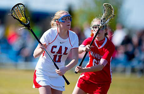 Caroline Anderson was named to the Kentucky All-State lacrosse team after playing on varsity as an eighth-grader.