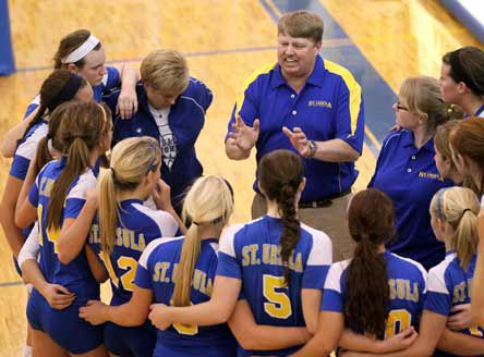 Coach John Buck has his team ranked No. 6 in the MaxPreps Xcellent 25 National Volleyball Rankings.