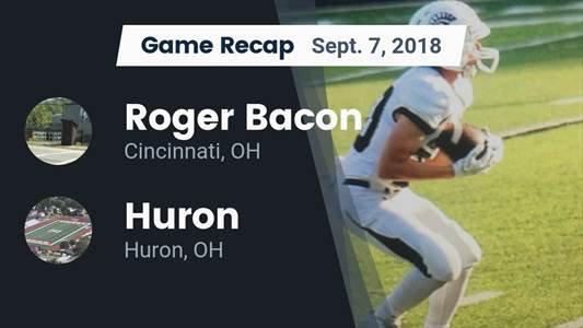Football Game Recap: Huron vs. Scott