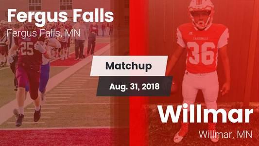 Football Game Recap: Fergus Falls vs. Willmar