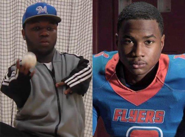 Illinois prep athletes Myshaun Dozier (left) and Jaylon McKenzie both generated national news last week.