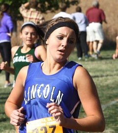 Jenna Faris is an accomplished distancerunner but also has a future in basketball.