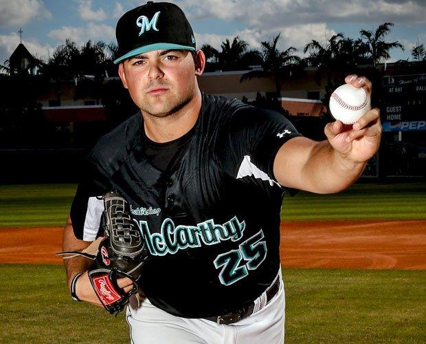 Pitcher Brian Gonzalez