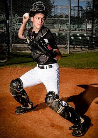 Catcher Ryan Sinzenich