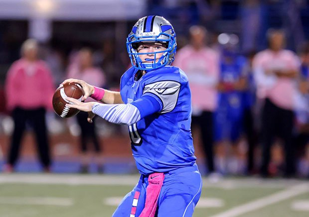 Logan Webb threw for 2,187 yards and 29 touchdowns in just nine games as a junior.