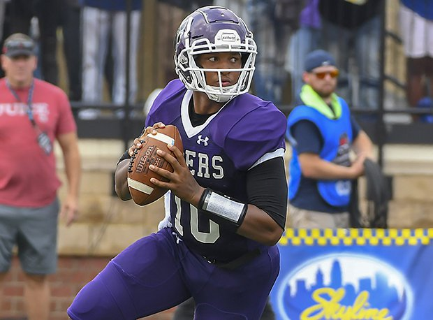 Pickerington Central senior Demeatric Crenshaw is considered the No. 10 overall prospect in Ohio.