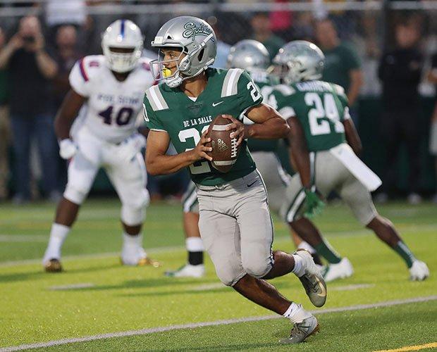 De La Salle sophomore quarterback Dorian Hale.