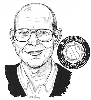 Dave Krider has covered Indiana high school basketball for 60 years, and was inducted into the Indiana Basketball Hall of Fame in 2010.
