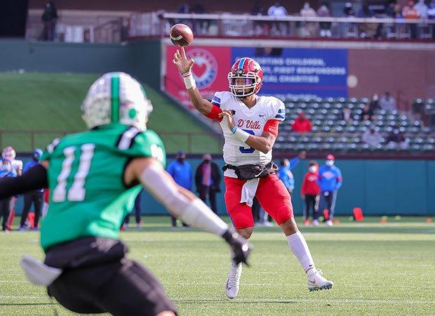 Grayson James, Duncanville quarterback