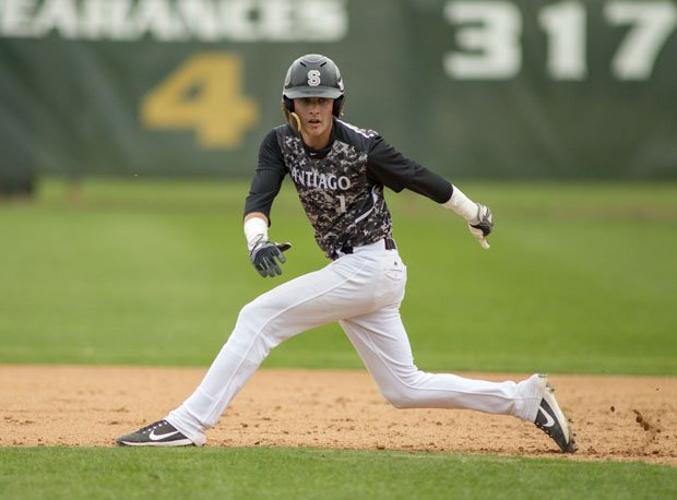 Santiago senior shortstop Brice Turang is now projected somewhere in between picks 5 and 25.