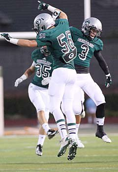 Granite Bay took care of previous No. 2 Vacaville to break into the top five.