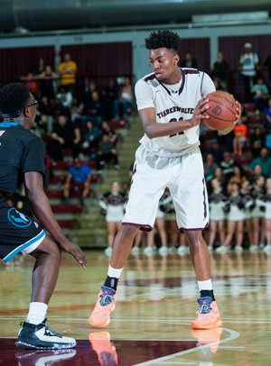 Jordan Brown had 31 points vs. Sheldon.
