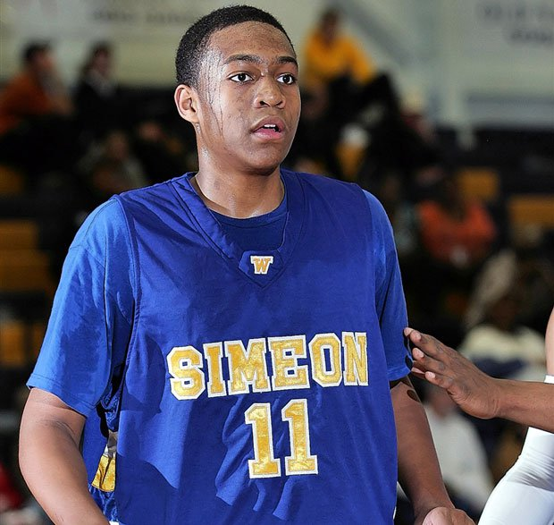Jabari Parker became the first freshman to start at storied Simeon during the 2009-10 season. After some early struggles, the Wolverines beat rival Whitney Young in the 4A state championship game.