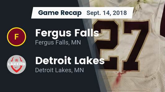 Football Game Recap: Rocori vs. Fergus Falls