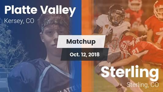 Football Game Recap: Sterling vs. Platte Valley