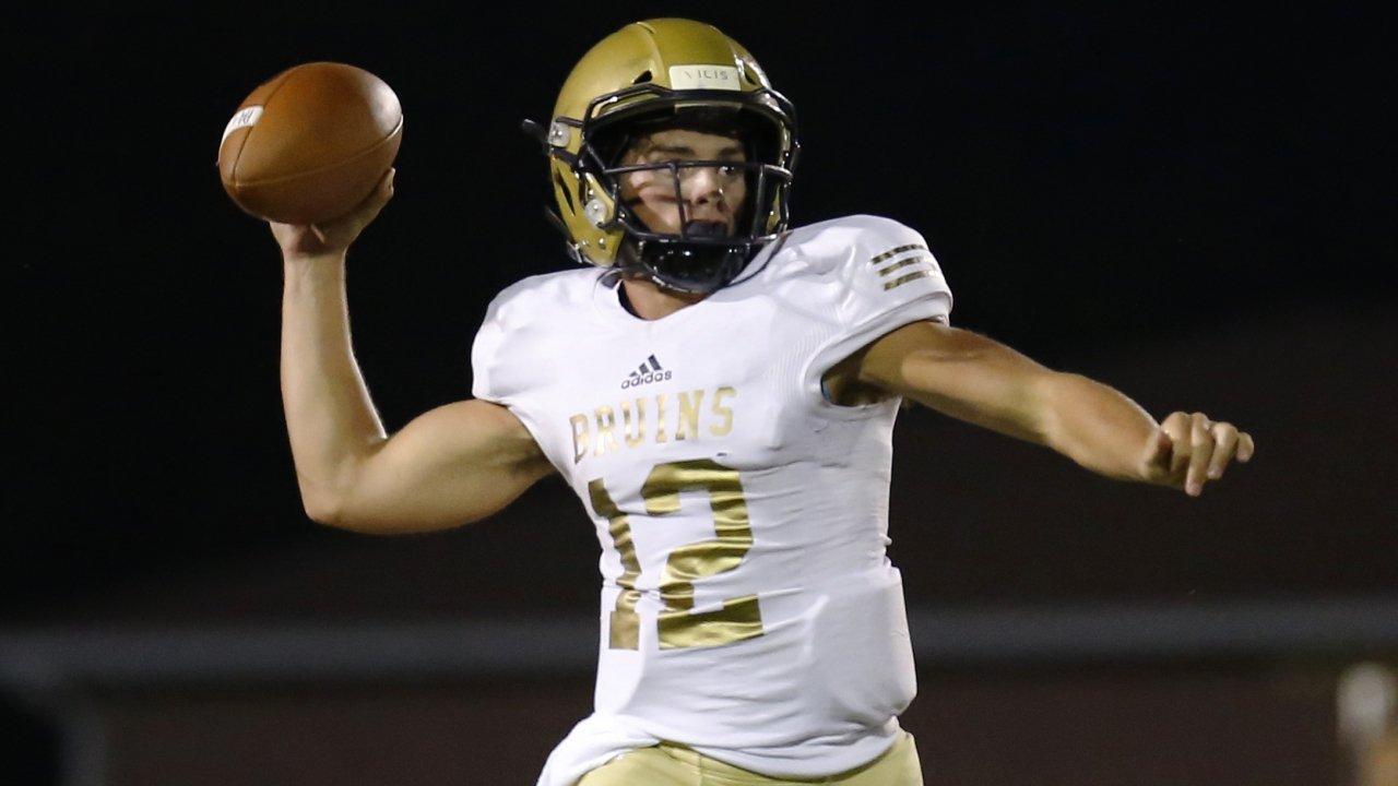 Final Top 50 National High School Football Passing Leaders Maxpreps