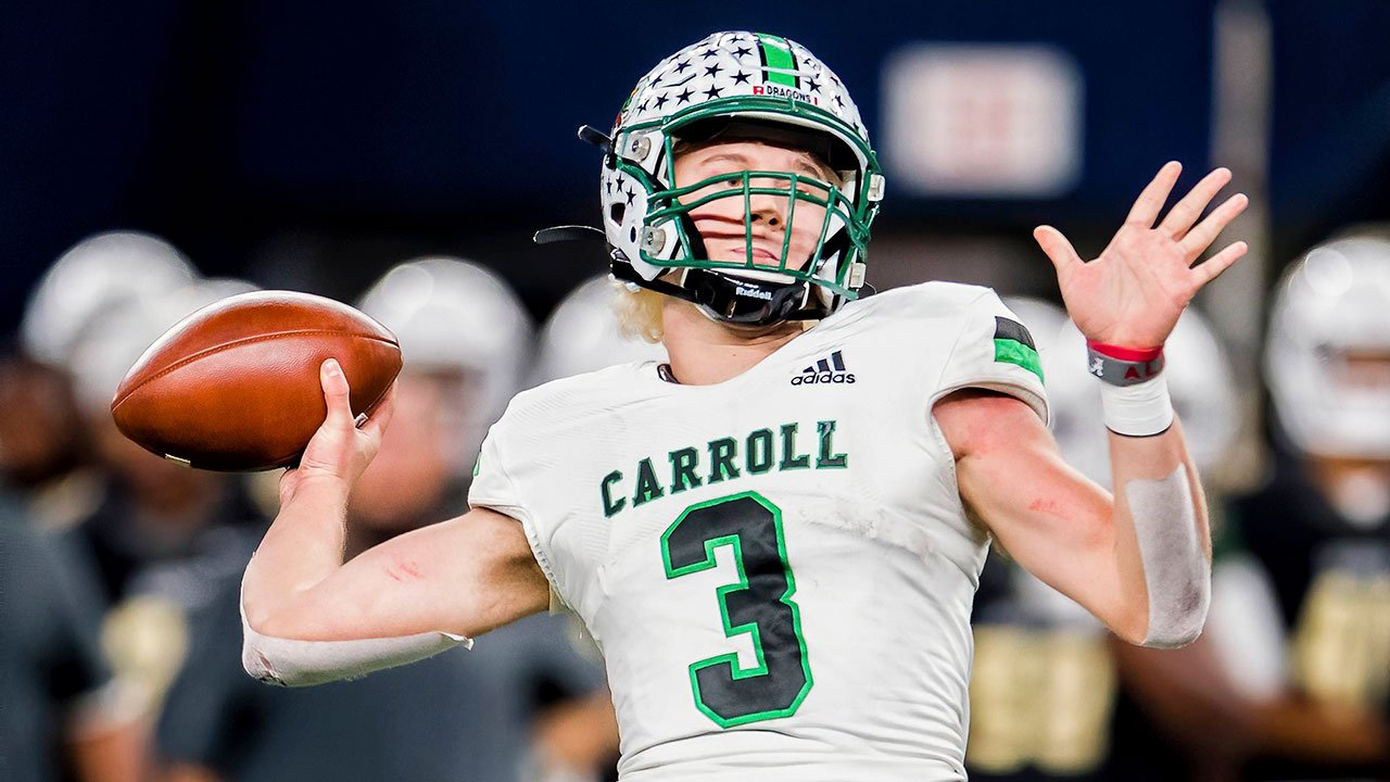 Maxpreps Preseason High School Football Top 25 No 16 Southlake Carroll Maxpreps