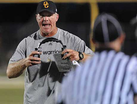 The Oak Grove offense exploded for 64 points behind the leadership of offensive coordinator Brett Favre.