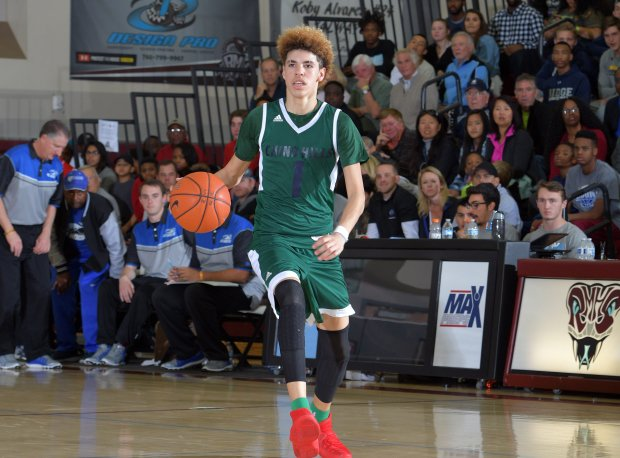 In the absence of older brother and current UCLA fab freshman Lonzo Ball, sophomore LaMelo Ball has emerged as one of high school basketball's biggest attractions.