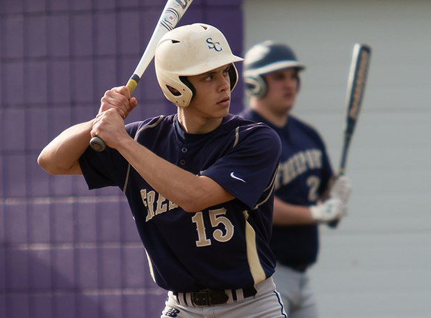 Freeport's Nevin DeCroo hit two home runs in one game this season.