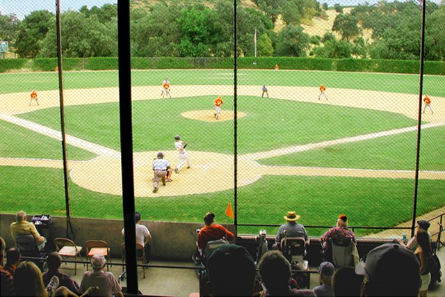 Cleve Borman Field gives veterans the best seats in the house for all types of games held at the stadium.