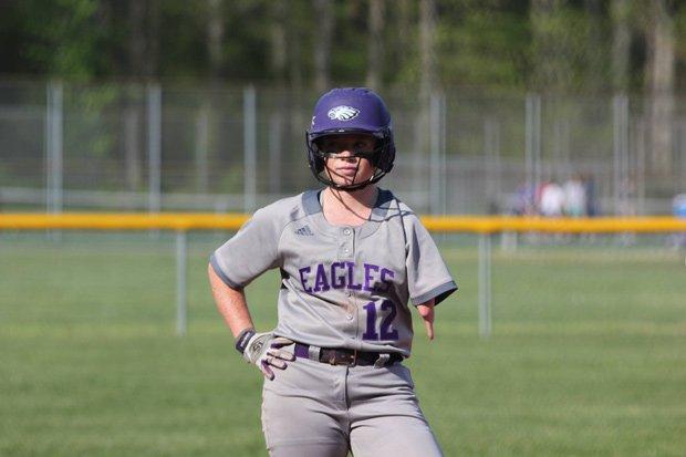 Katelyn Pavey has one more season to impress college programs as a prep player at Lanesville.