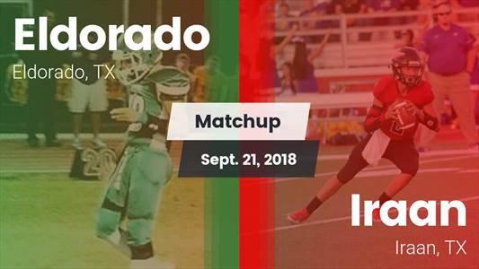 Football Game Recap: Eldorado vs. Iraan