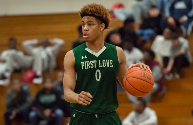 Senior guard David Collins has helped put First Love Christian Academy of Pennsylvania on the map this season.