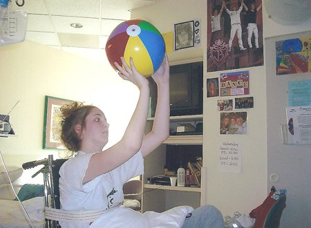 Maggie Meier rediscovered her shooting stroke with a beach ball in her hospital room. Now the senior is back in action for Blue Valley Northwest.