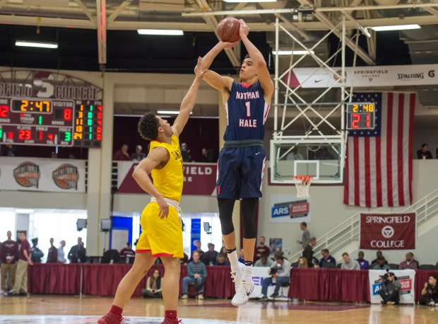 Michael Porter Jr. continued his quest to turn downtrodden Nathan Hale (three wins in 2015-16) into a national champion, scoring 37 points in a win over Oak Hill Academy on Monday.