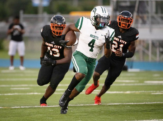 Amari Daniels is one in a long line of great Central (Miami) running backs.