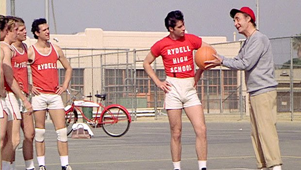 I bet Danny Zuko could ball during his days at Rydell.