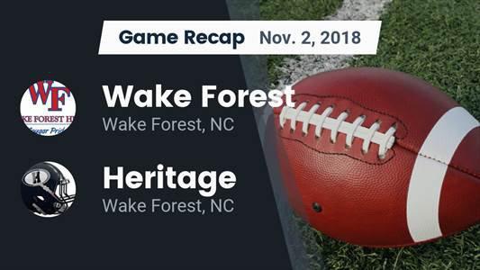 Heritage High School (Wake Forest, NC) JV Football