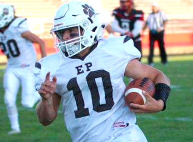 East Palestine's Parker Sherry has accounted for 91 touchdowns in his career.