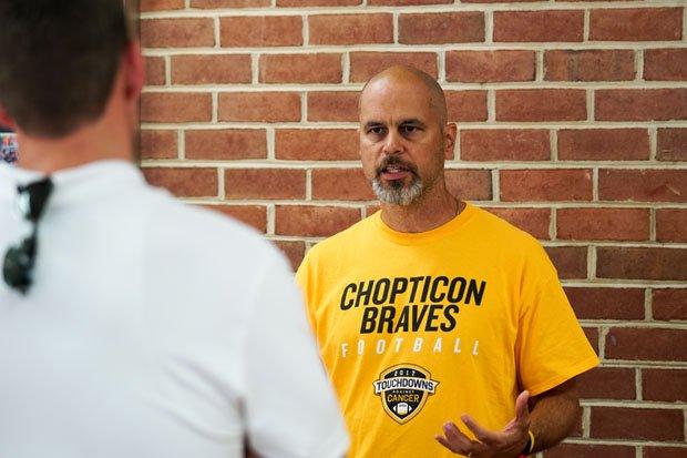 Chopticon head coach Anthony Lisanti.