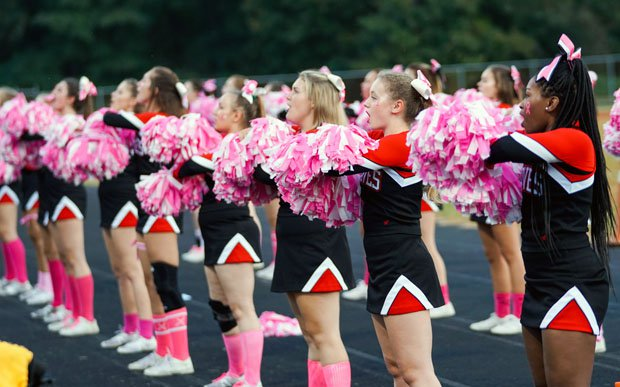 The Braves' cheerleaders also proved to be the top TAC spirit squad in the nation.