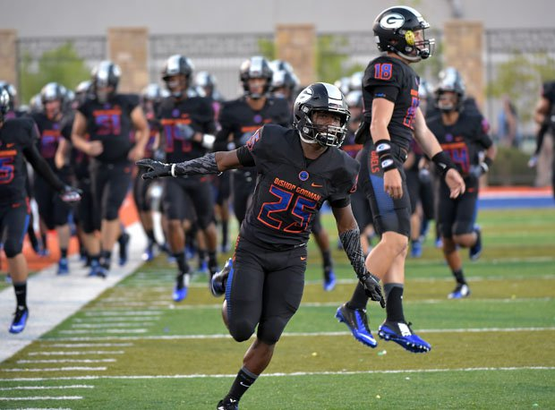When Tyjon Lindsey (25) and Tate Martell (18) are introduced at Bishop Gorman, the energy is nothing short of electric.